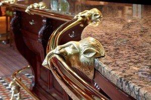 Bar Brass Polishing