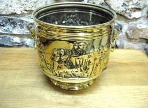 Brass Coal Buckets