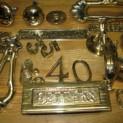 Brass polishing and metal polishing